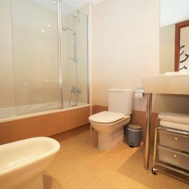 Baño con bañera Apartaments Superior El Tarter Andorra
