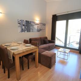 Salón comedor Apartaments Superior El Tarter Andorra