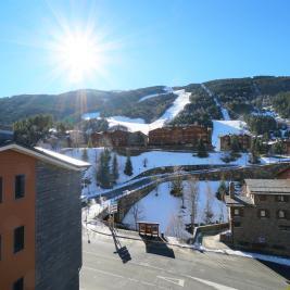 Vistas montaña Apartaments Superior El Tarter Andorra